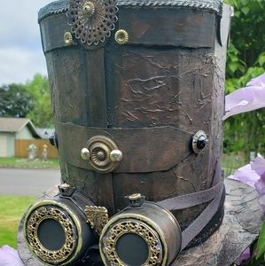 Steam Punk Stove Top Hat